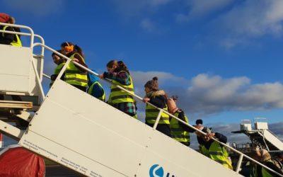 5-okų išvyka į oro uostą.