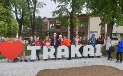 5 klasės mokinių suplanuota išvyka į Trakus.
